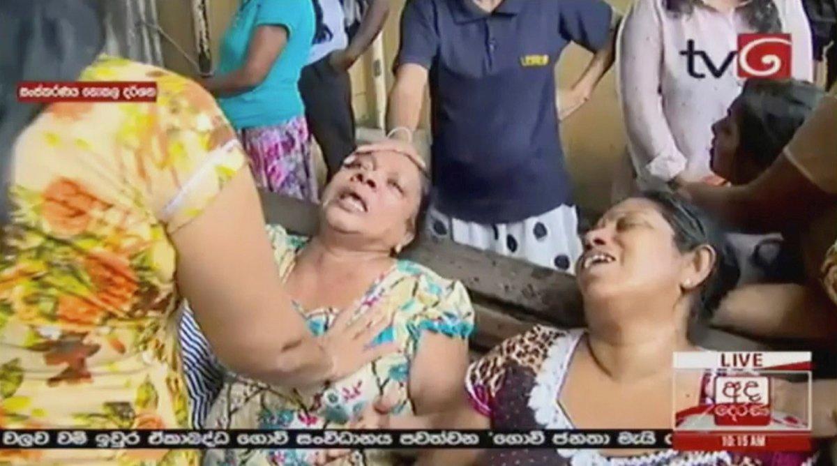 Série výbuchů na Srí Lance si vyžádala nejméně 42 obětí, podle některých agentur až 50. (21.4.2019)