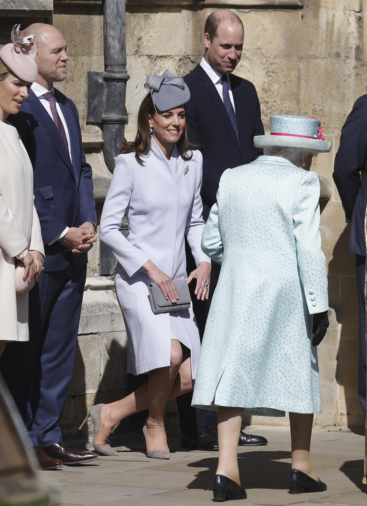 Oslavy Velikonoc královské rodiny