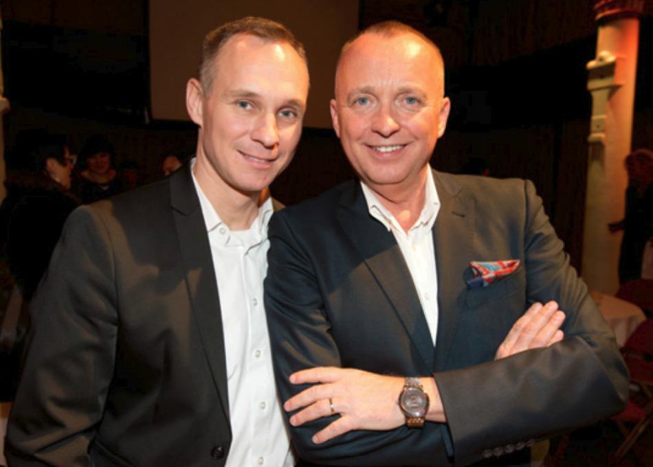 Karel Voříšek s partnerem