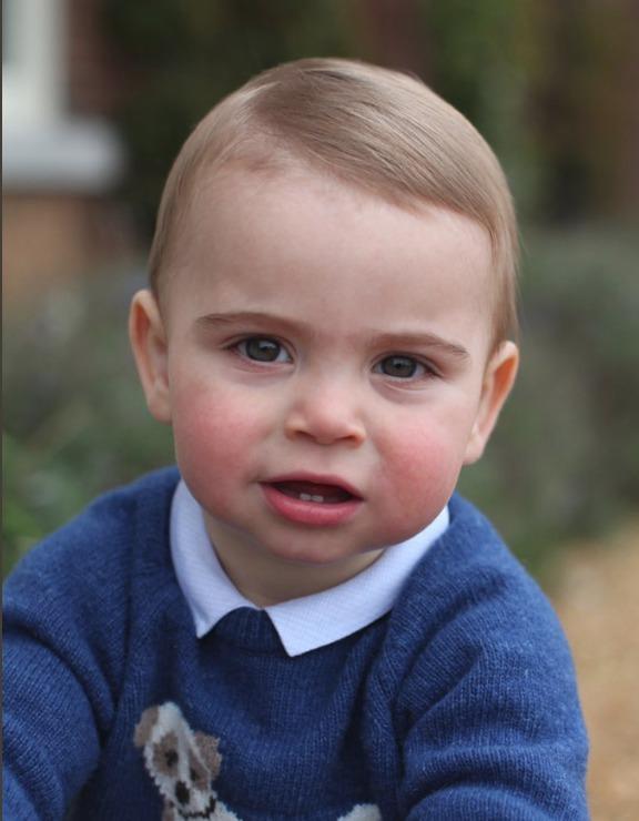 Princ Louis před prvními narozeninami