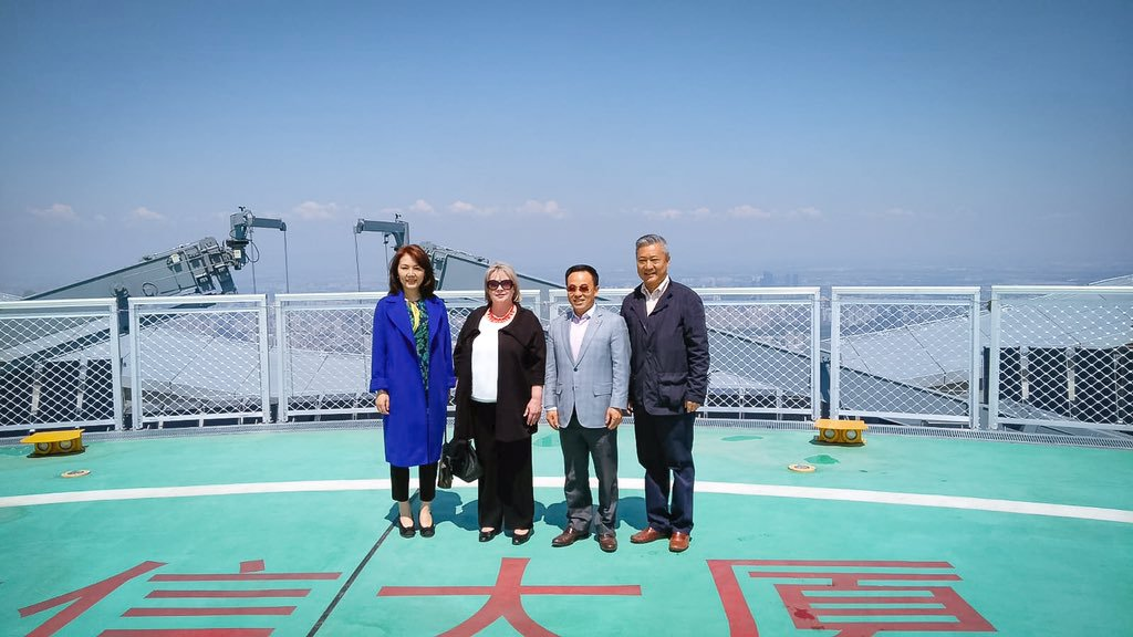 Momenty Ivany Zemanové z návštěvy Pekingu (26. 4. 2019)