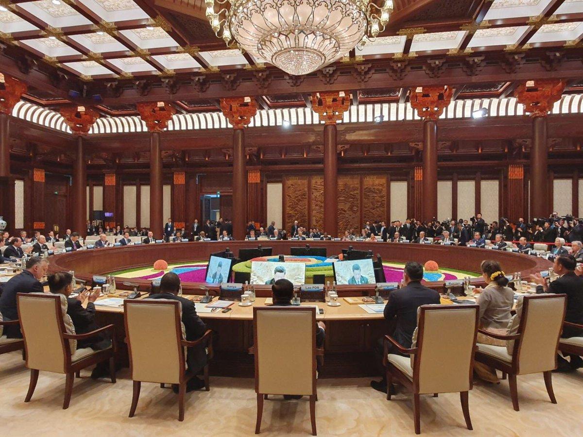 Konference k nové Hedvábné stezce (27. 4. 2019)