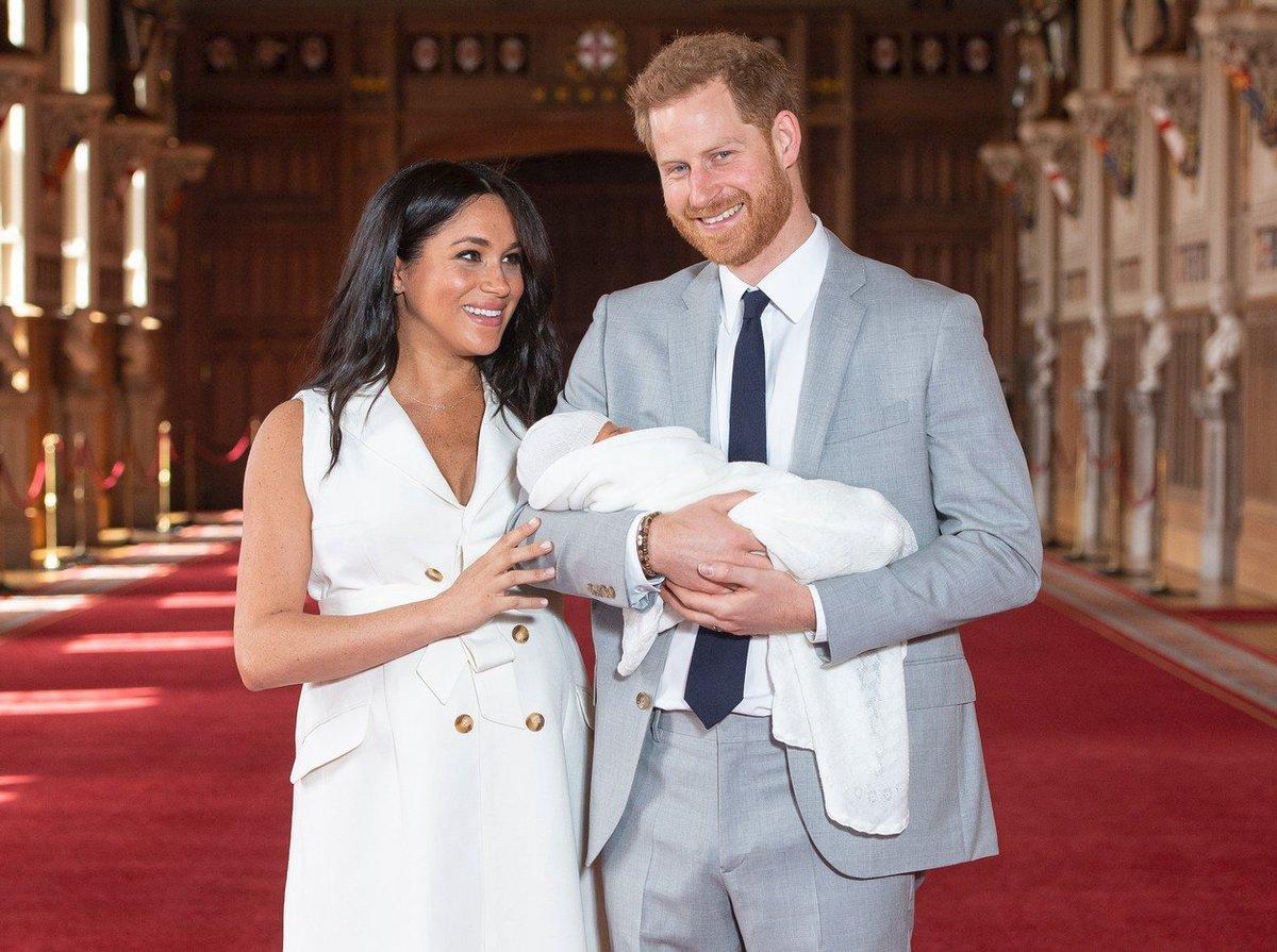Princ Harry a vévodkyně Meghan představili syna