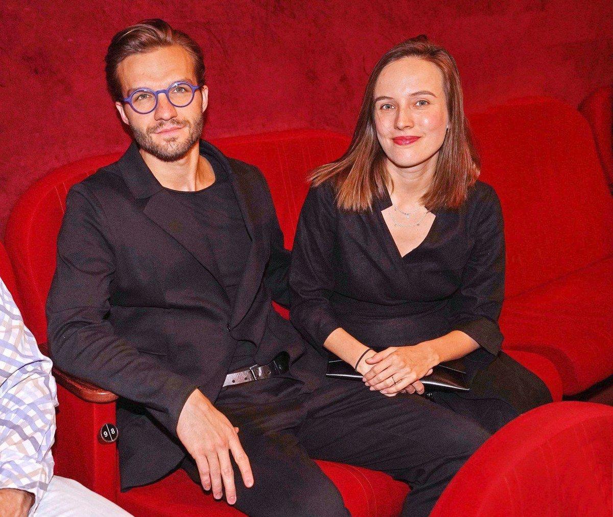 Tereza Voříšková s přítelem