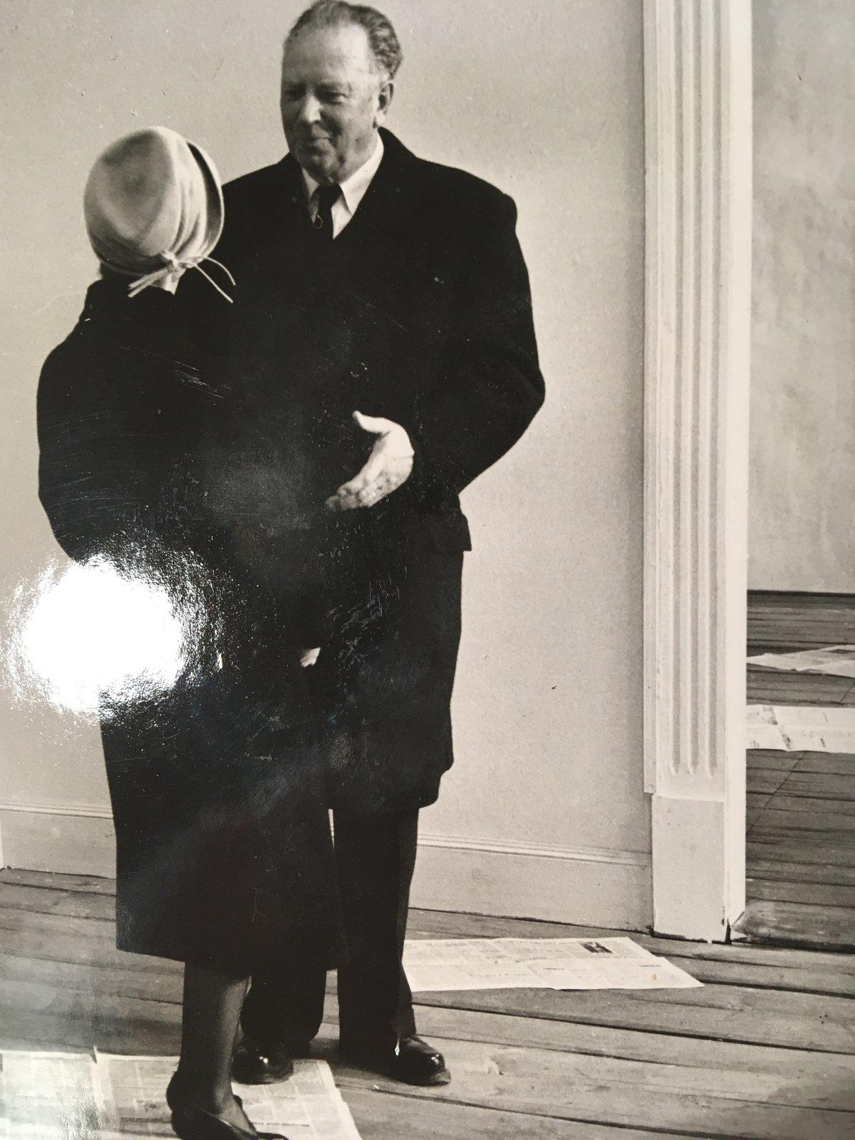 František Unčovský v epizodní roli ve Všech dobrých rodácích.