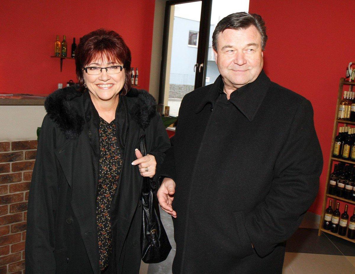 Václav Postránecký s manželkou Helenou