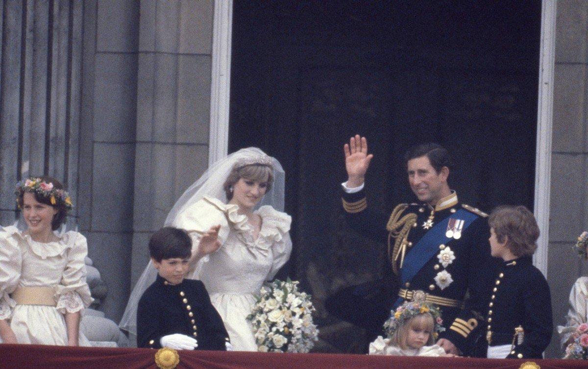 Svatba prince Charlese a princezny Diany