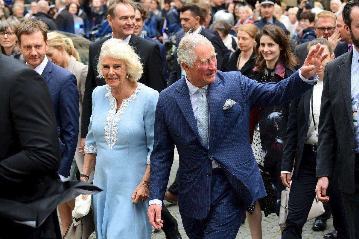 Princ Charles se svou druhou manželkou Camillou
