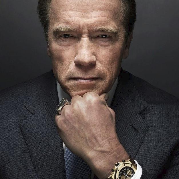 Železný Arnold Schwarzenegger se pořád udržuje v kondici