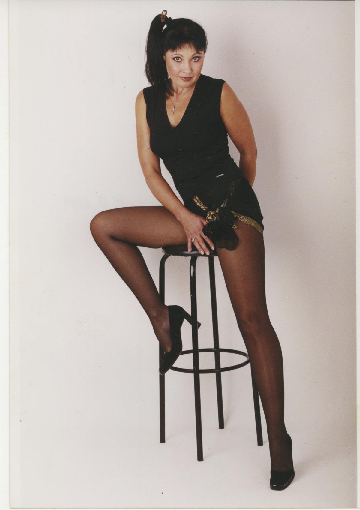 Dáda Patrasová zabodovala v soutěži Blesku o nejkrásnější nohy (2001).