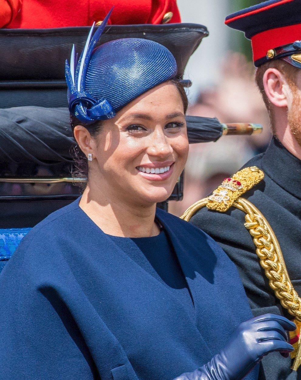 Vévodkyně Meghan na oslavách narozenin královny