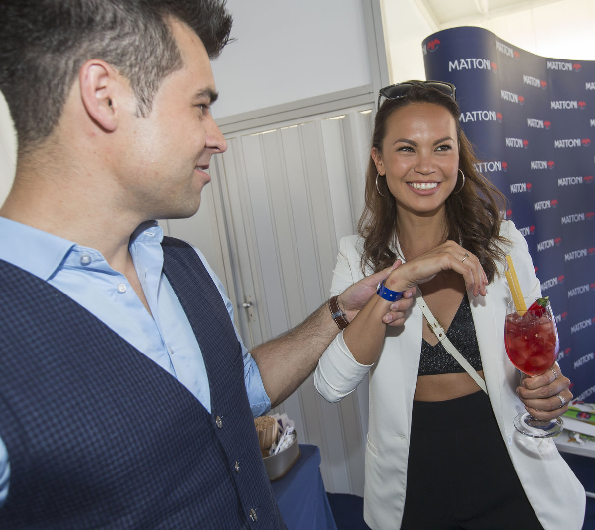 Monika Leová s manželem Martinem