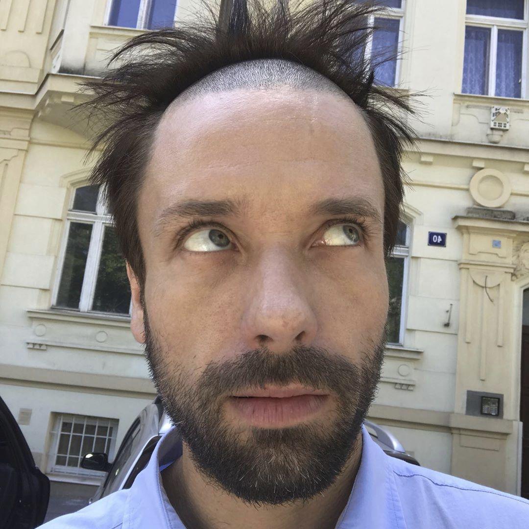 Václav Neužil má smysl pro humor