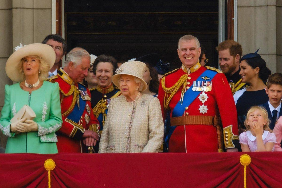 Oslavy narozenin královny Alžběty II.