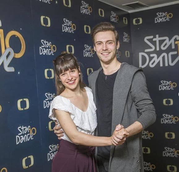 Veronika Khek Kubařová a tanečník Dominik Vodička ve StarDance
