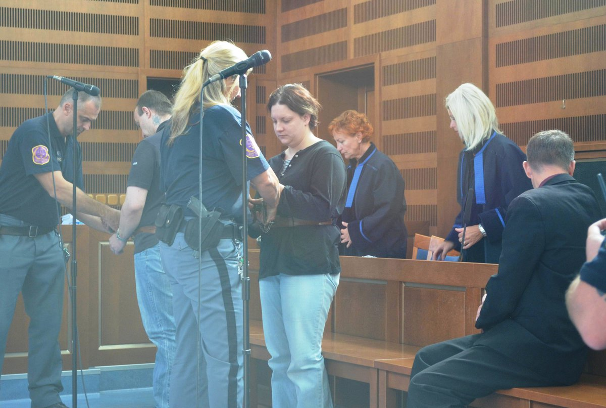 Petra Janáková u soudu