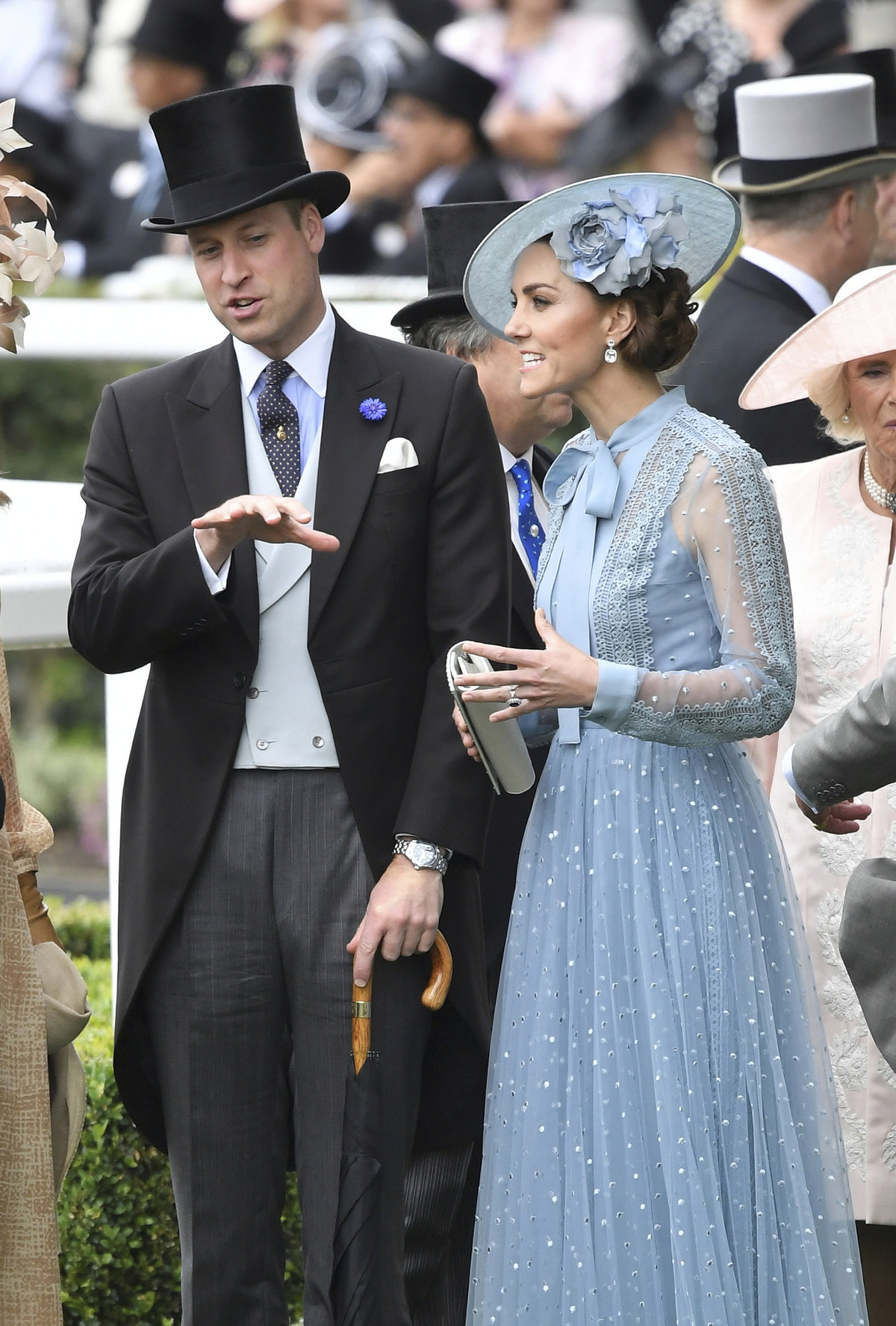 Vévodkyně Kate a princ William.
