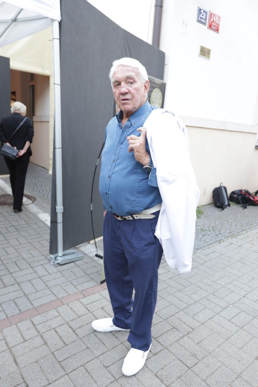Oslava narozenin Karla Gotta: Jiří Krampol