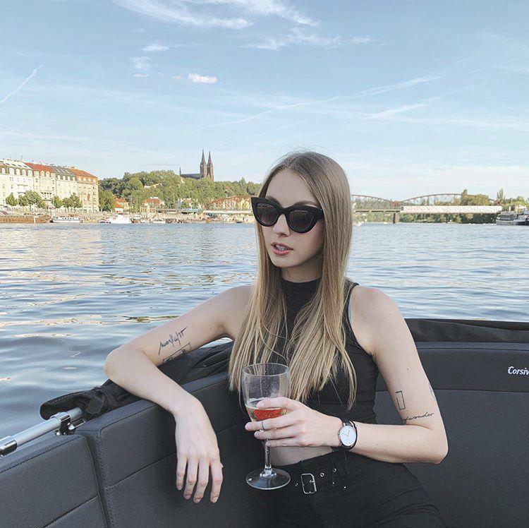 Neteř Jaromíra Jágra Pavlína si potrpí na módu