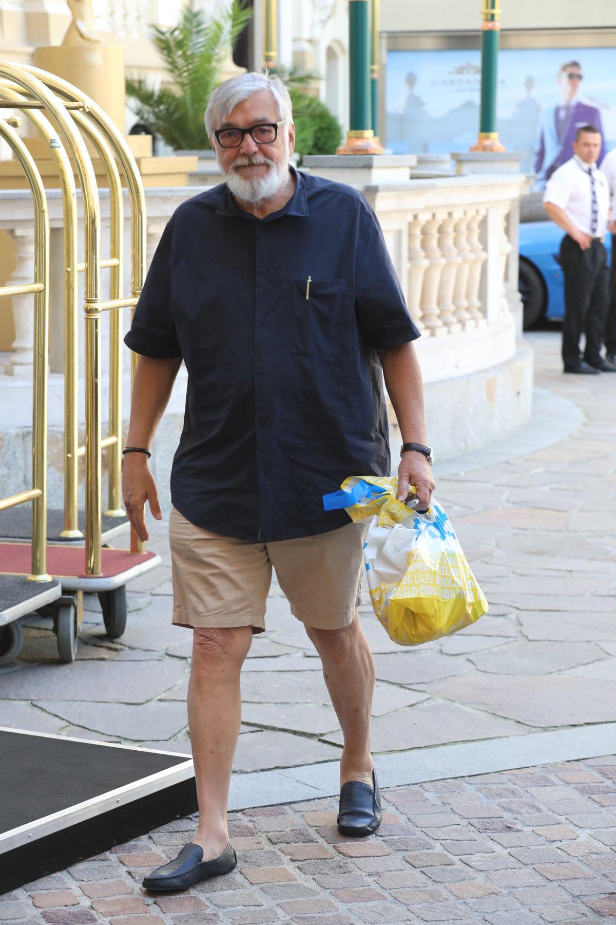 Ředitel festivalu Jiří Bartoška