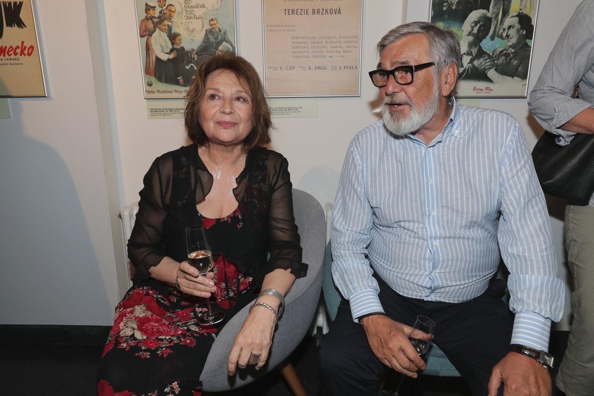 Emília Vašáryová a Jiří Bartoška