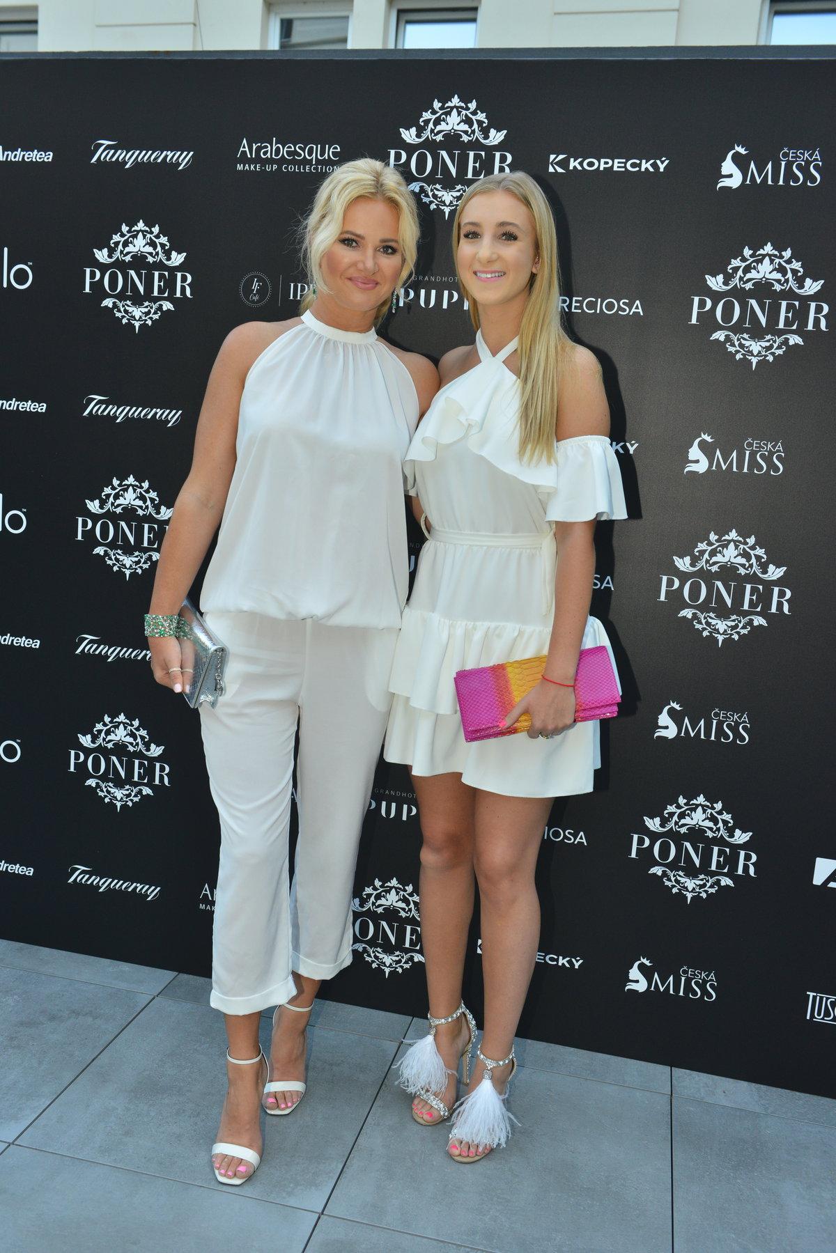 Monika Babišová s dcerou Vivien