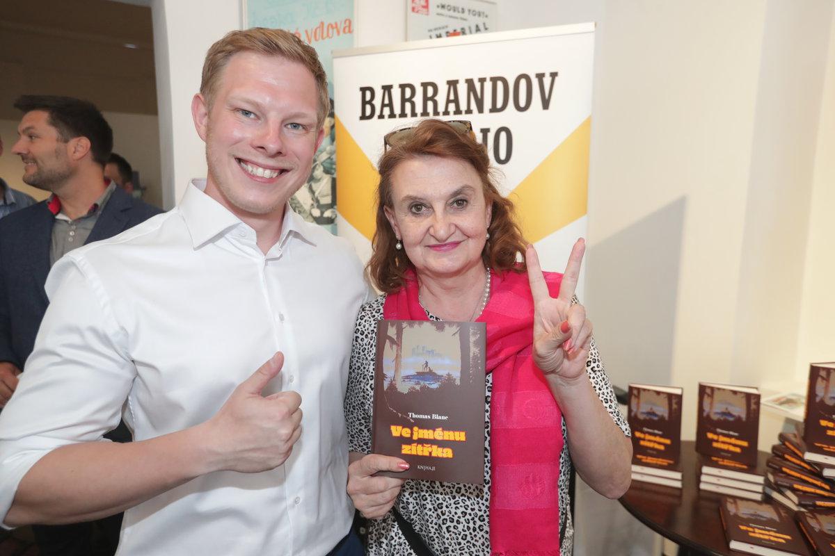Eva Holubová a Thomas Blanc