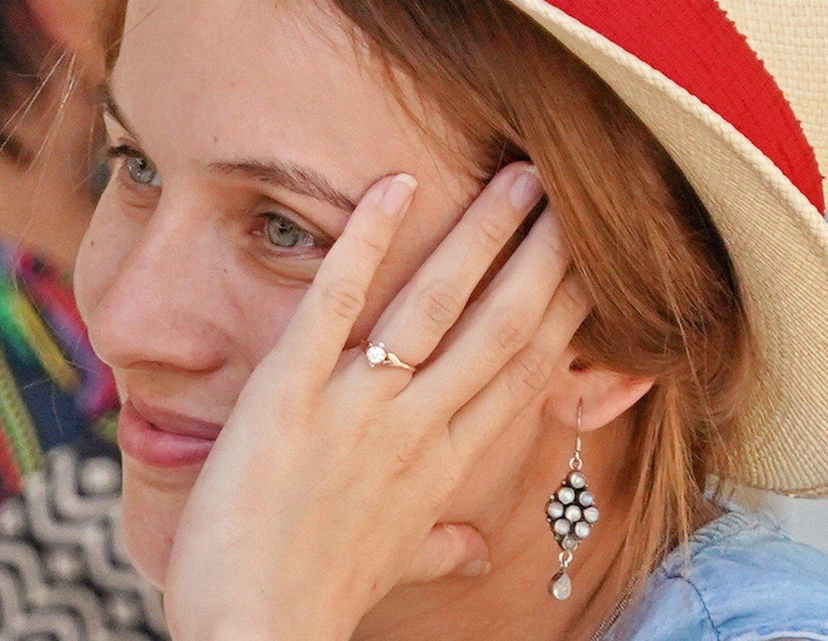 Tereza Voříšková ukázala prstýnek