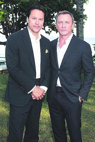 Cary Fukunaga a Daniel Craig.