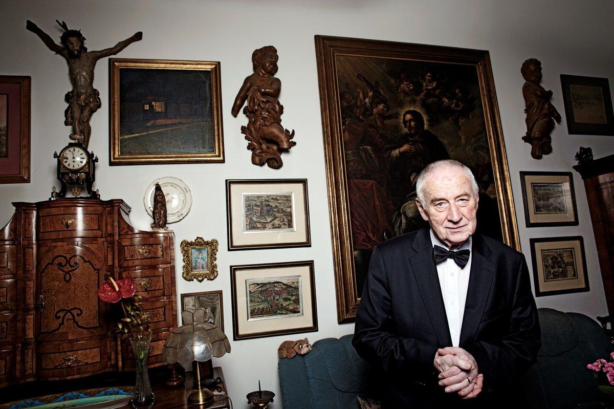 Profesor Josef Koutecký v roce 2016.