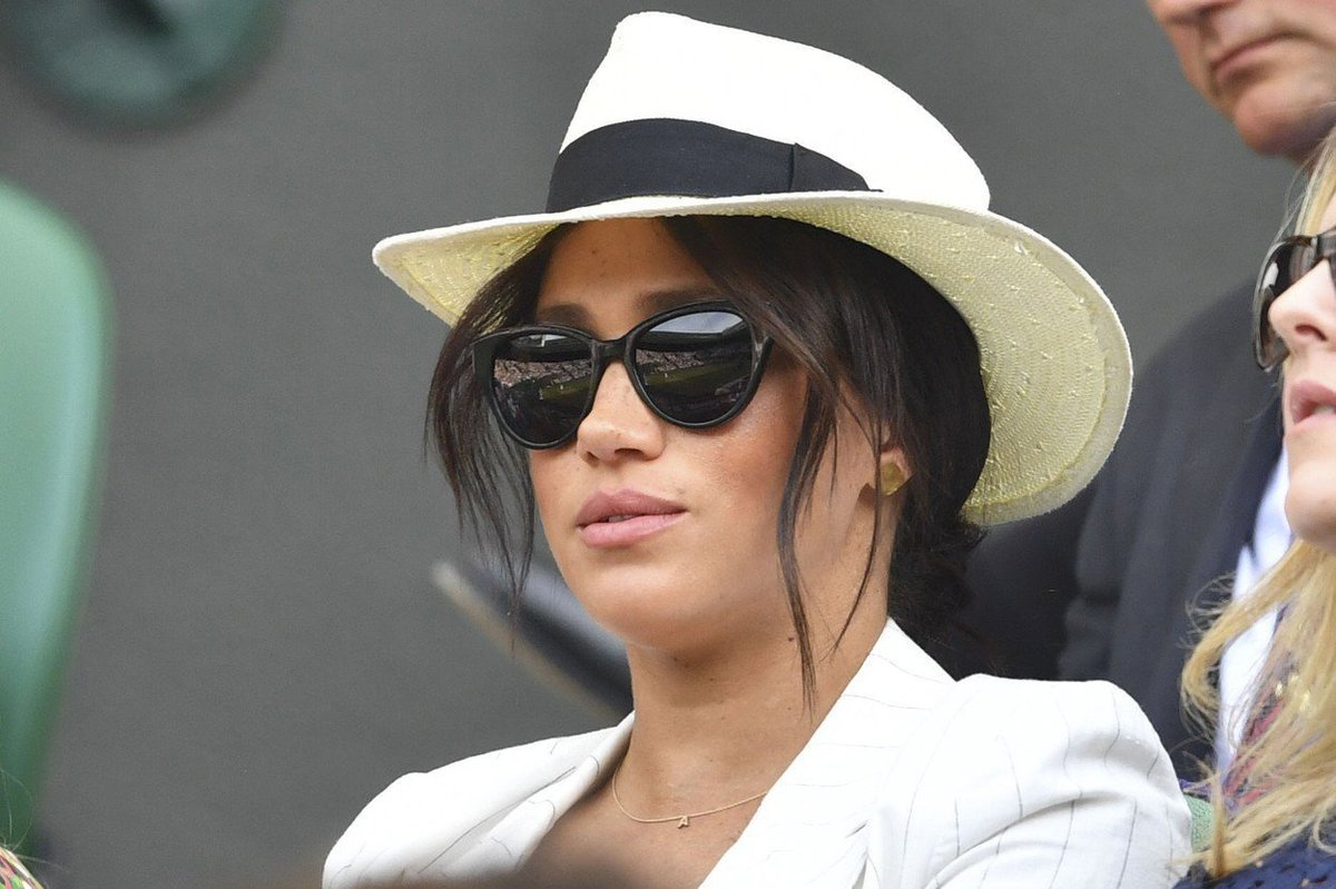 Meghan se na Wimbledonu postarala o velký poprask