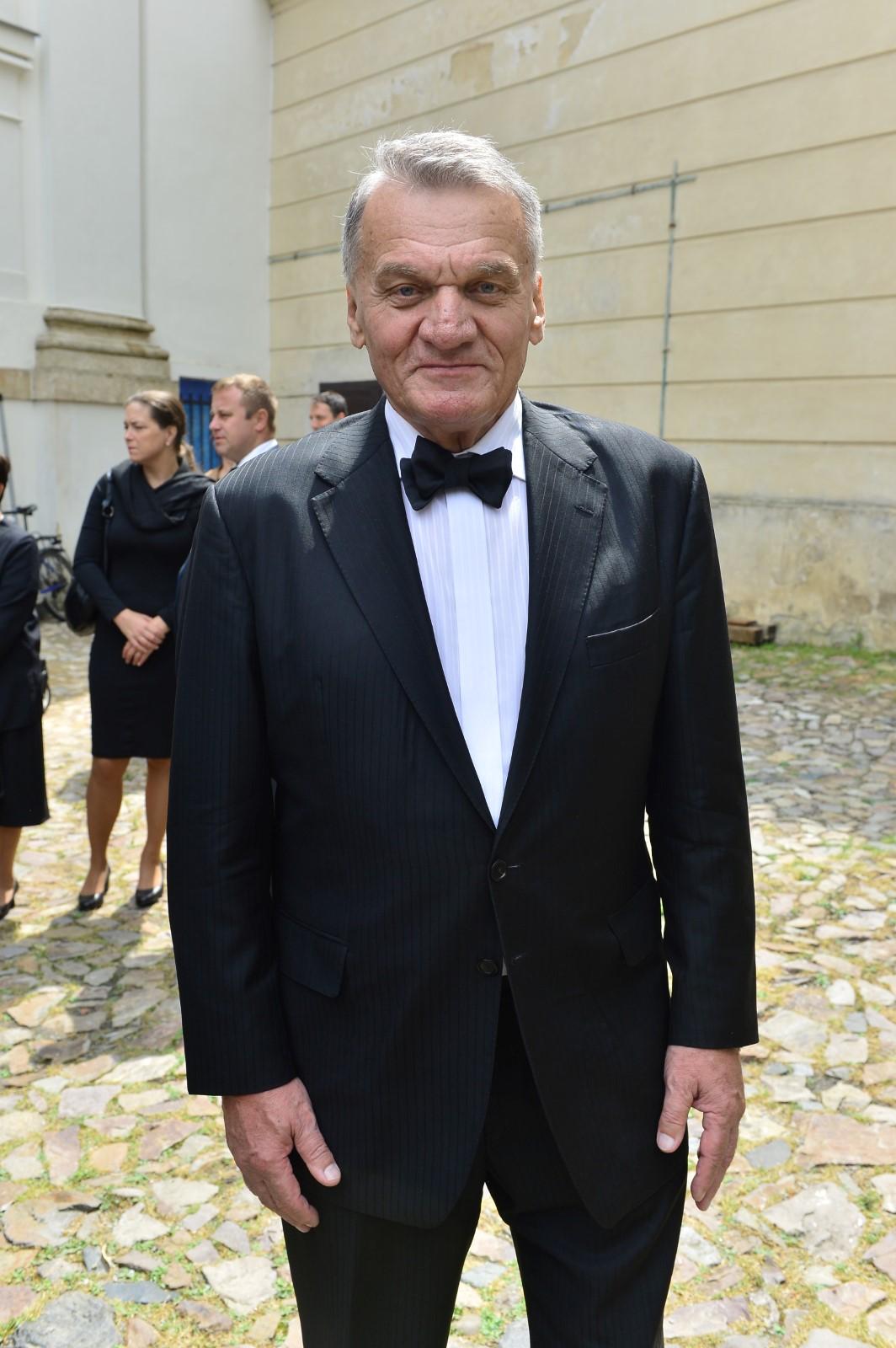 Poslední rozloučení s Josefem Kouteckým (†88): Exprimátor Prahy Bohuslav Svoboda (13. 7. 2019)