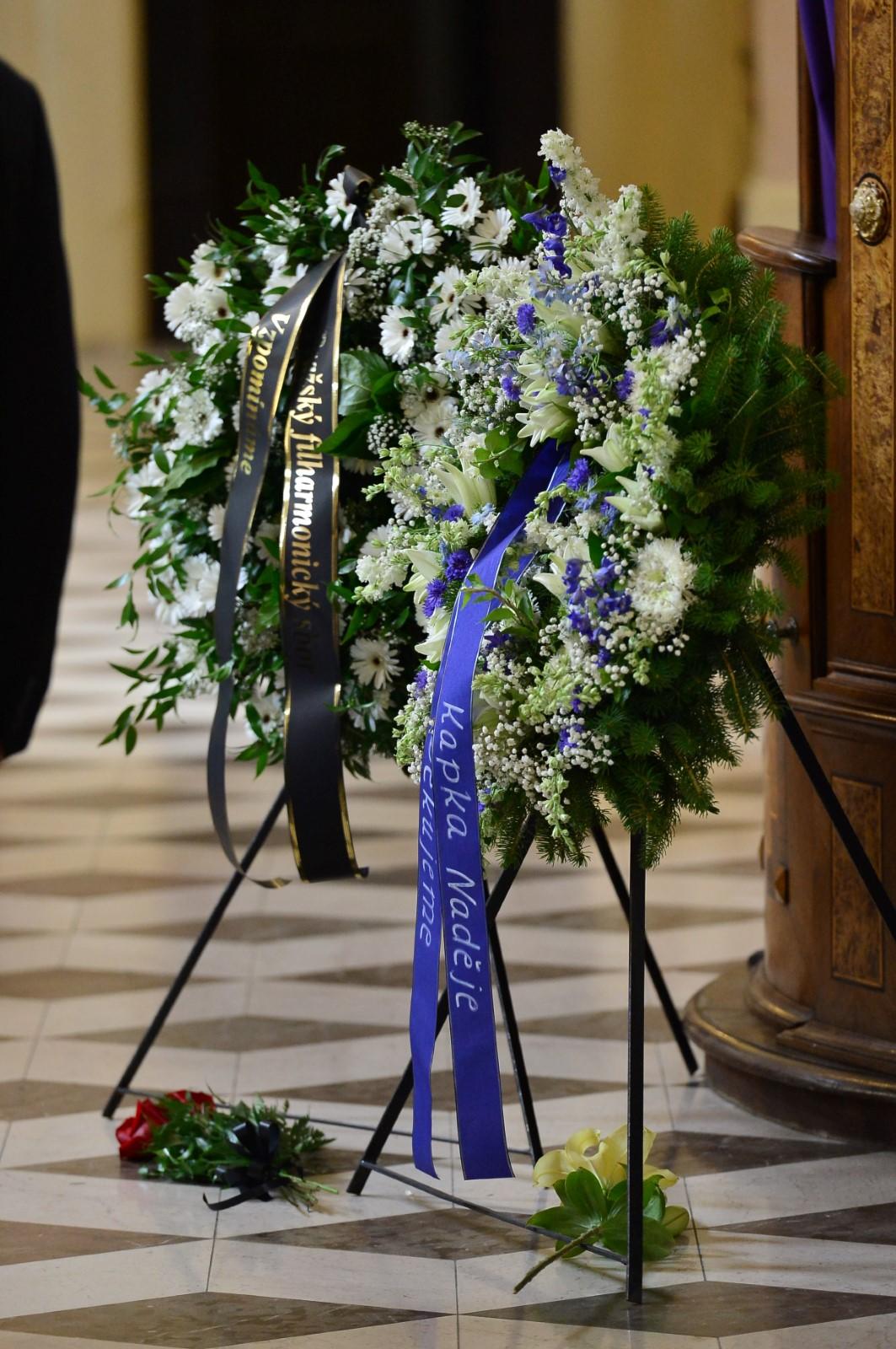 Poslední rozloučení s Josefem Kouteckým (†88): Dorazily stovky hostů (13. 7. 2019)