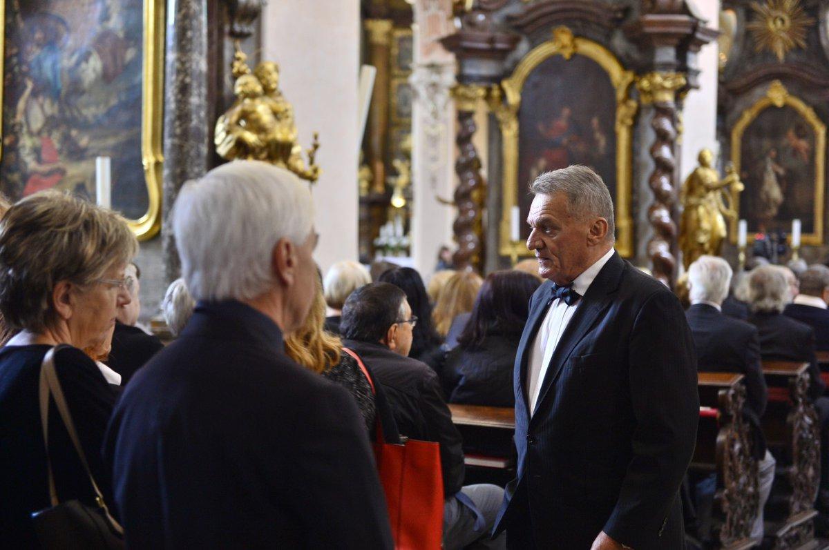 Poslední rozloučení s Josefem Kouteckým (†88): Bohuslav Svoboda (13. 7. 2019)