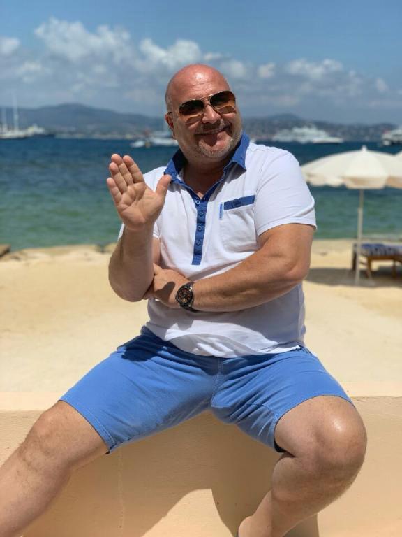 Michal David na dovolené v St. Tropez