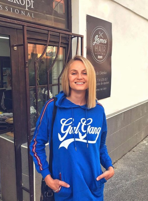 Tereza Fajksová a její postřižiny