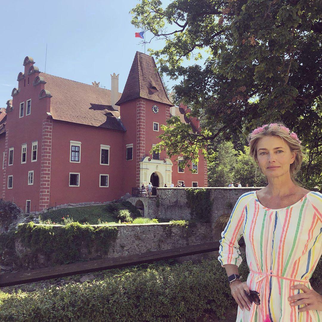 Pavlína Pořízková se stihla zajet podívat i na zámek Červená lhota