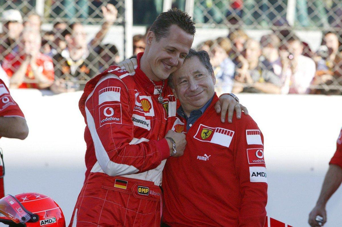 Bývalý šéf Ferrari Jean Todt měl a stále má k Michaelu Schumacherovi velmi blízko