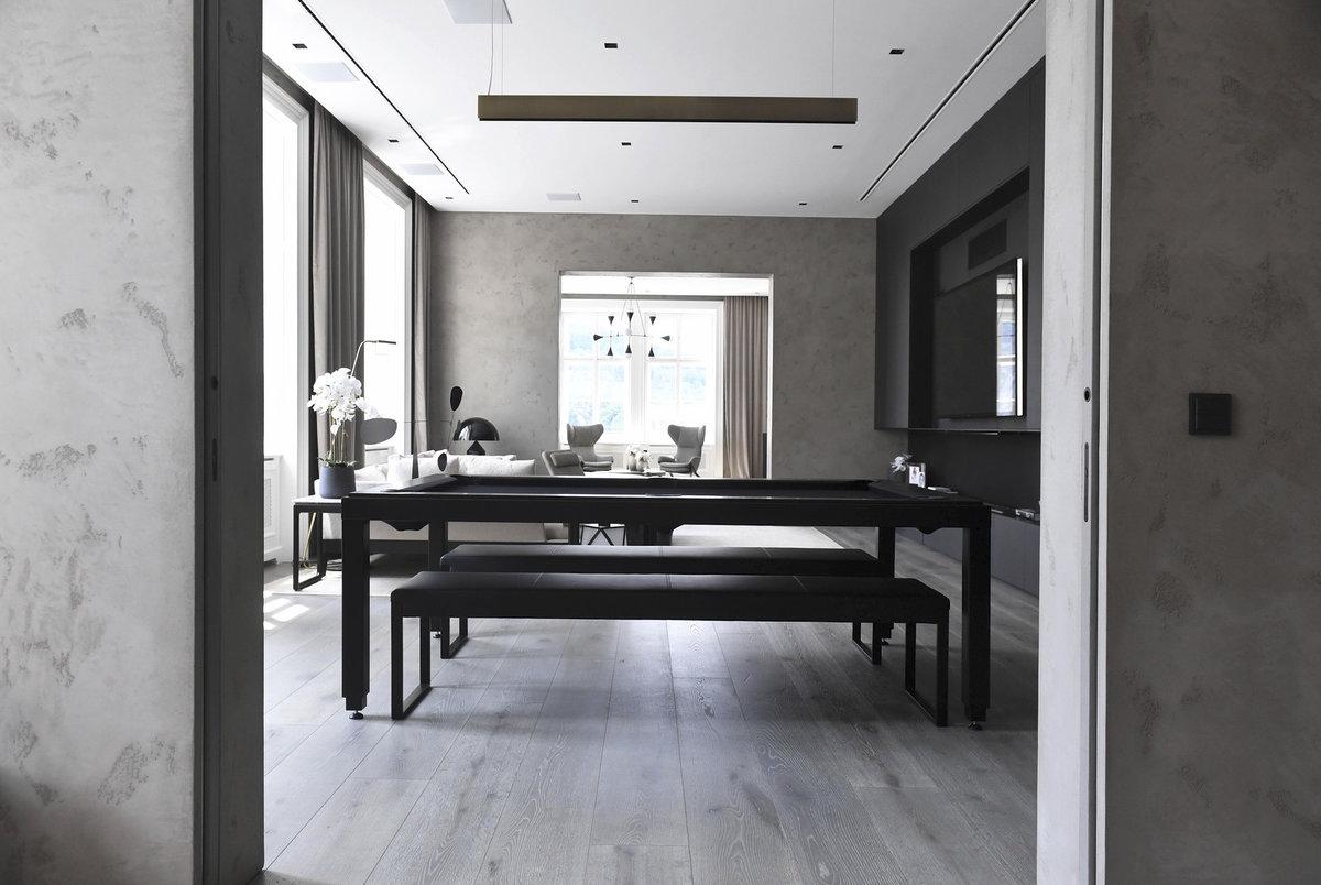 Architektka Nedvědova bytu je z Itálie, stejně tak i řemeslníci