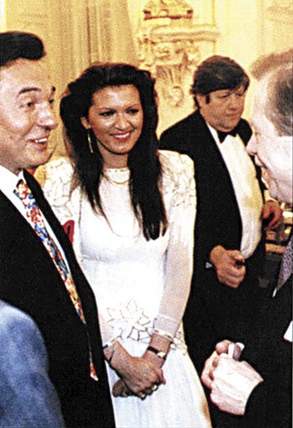 Karel Gott a Martina Zbořilová