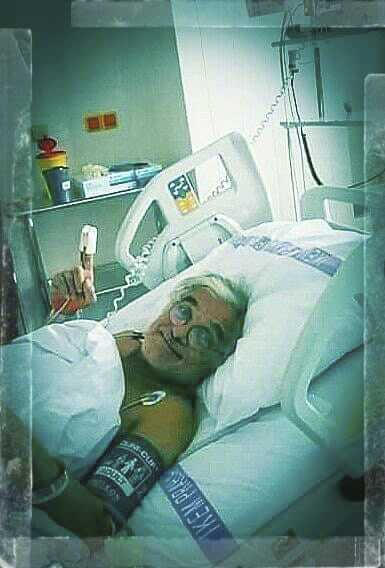 Oldřich Kaiser po operaci srdce