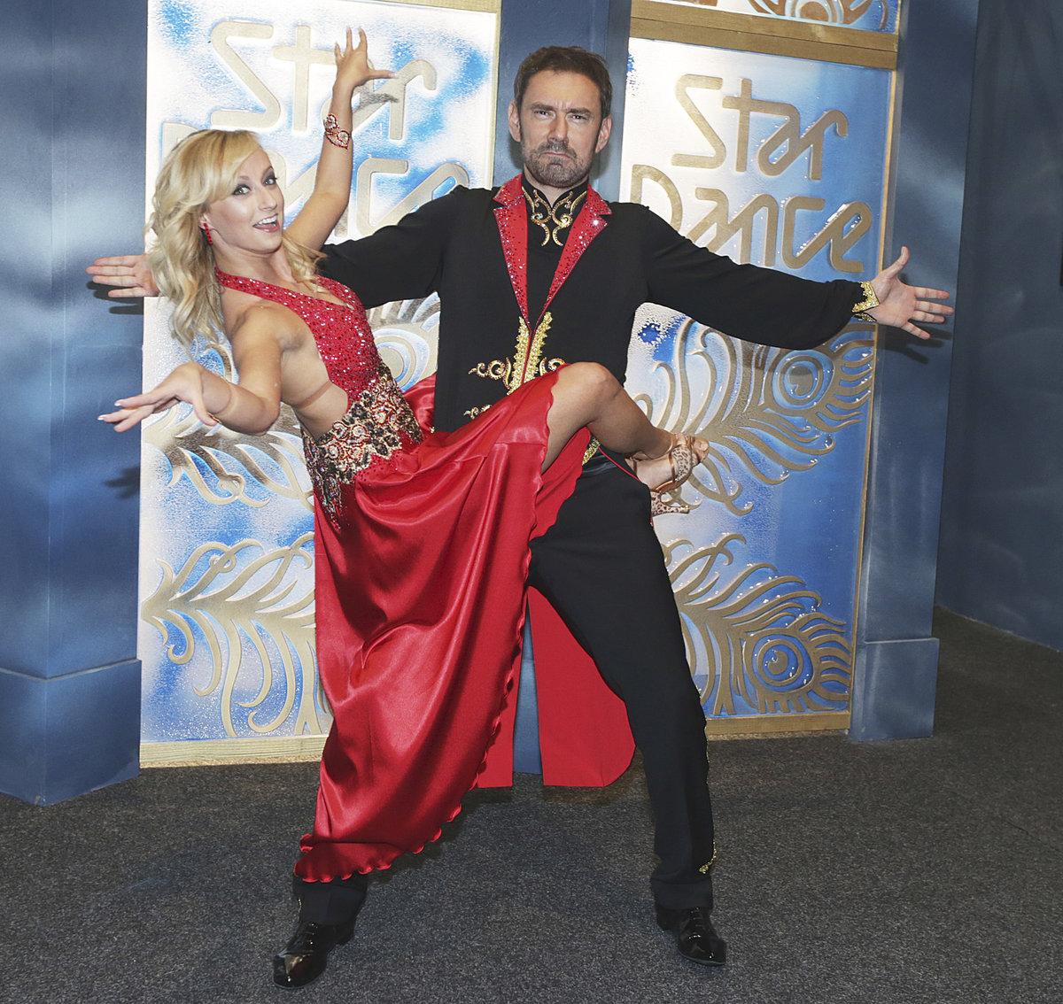 Emanuele Ridi a Lucie Hunčárová ve StarDance.