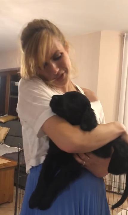 Gabriela Koukalová ukázala nového člena rodiny