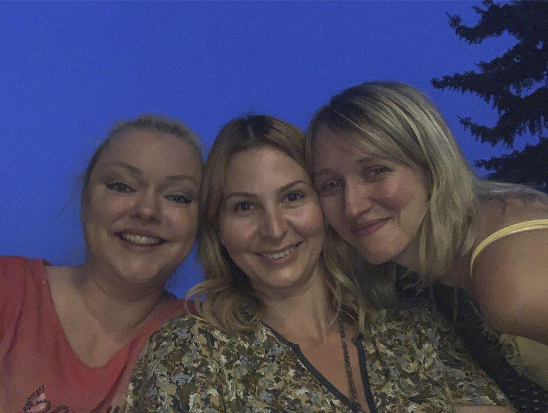Ivana Gottová s Dominikou a Lucií