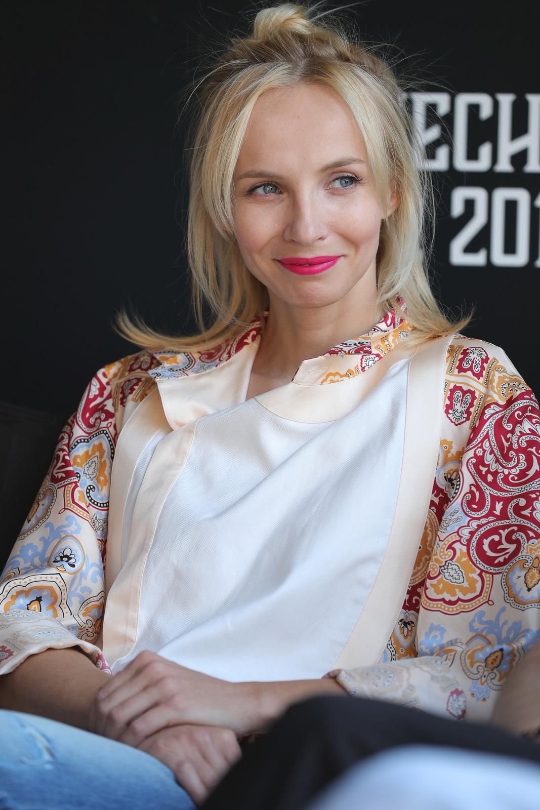 Herečka Jana Plodková