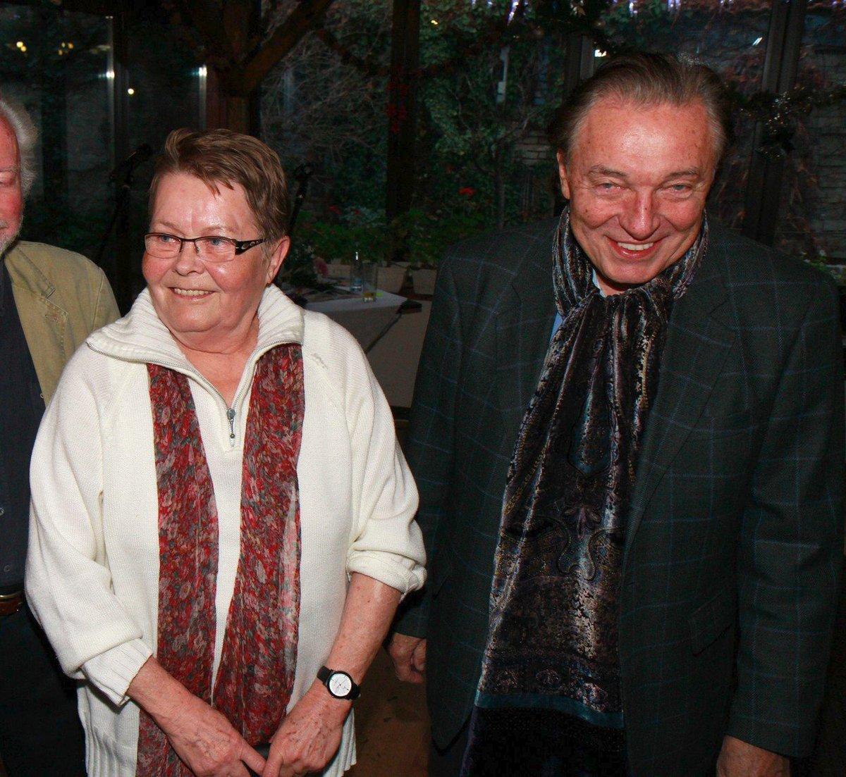 Jana Drbohlavová s Karlem Gottem