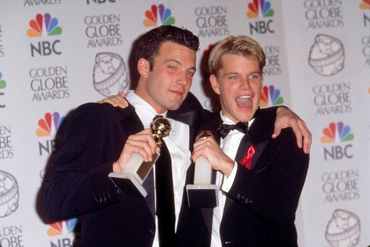 Dva nejlepší kamarádi, oba skvělí herci. Ben s přítelem Mattem Damonem.
