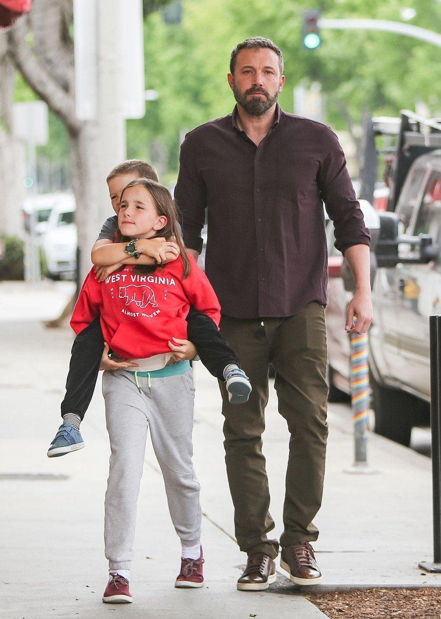Affleck má s Jennifer tři děti a rodina pro něj znamená hodně.