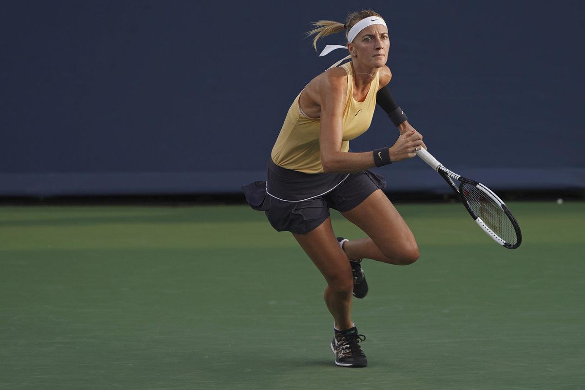 Petra Kvitová prohrála ve svém prvním zápase v Cincinnati v 2. kole 4:6, 6:2, 3:6 s Řekyní Marií Sakkariovou.