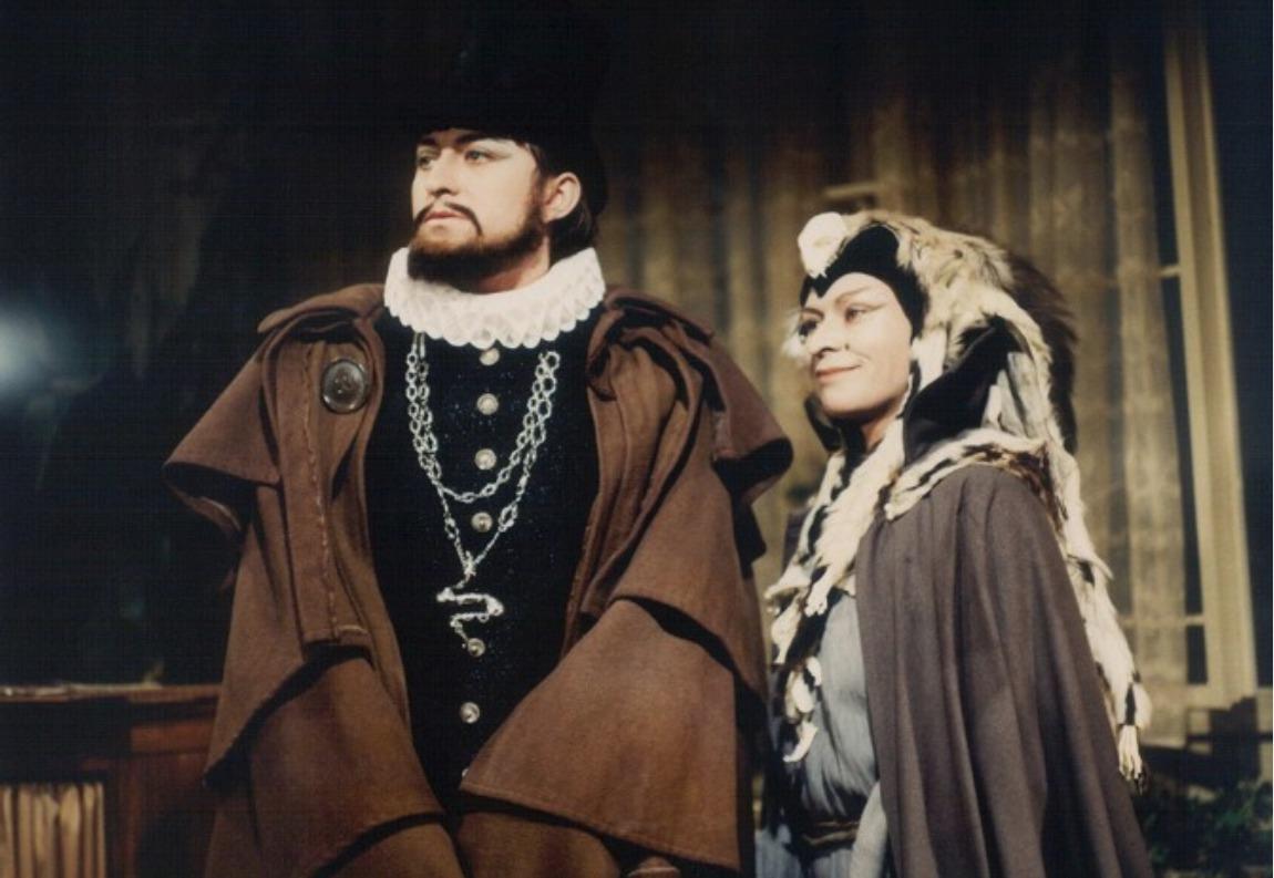 Jana Andresíková jako čarodějnice z Arabely